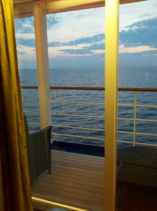 Enjoying White Nights from the Silver Whisper