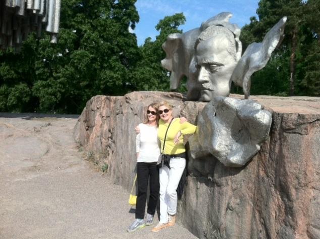 Jean Sibelius, the famous Finnish composer