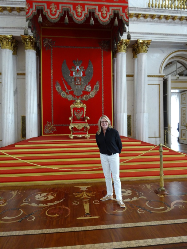 The Throne Room at Catherine's palace