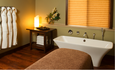 Come check out this relaxing Sage Spa.