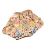 Floral-Print-De-Manta-Clutch-Bag