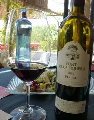 Priorat wine and food pairing