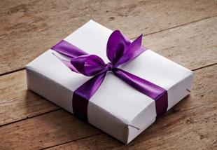 GiftWithPurpleRibbon