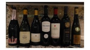 wines at La Reserve
