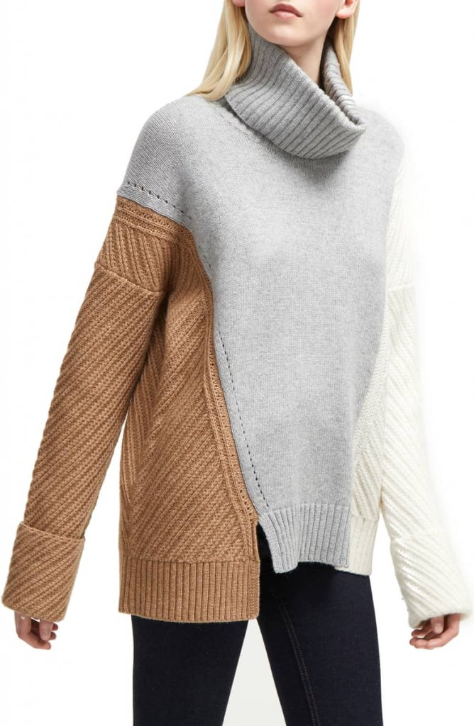 French Connection Viola Turtleneck