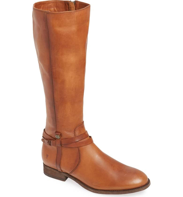 Frye Melissa Belted Riding Boot