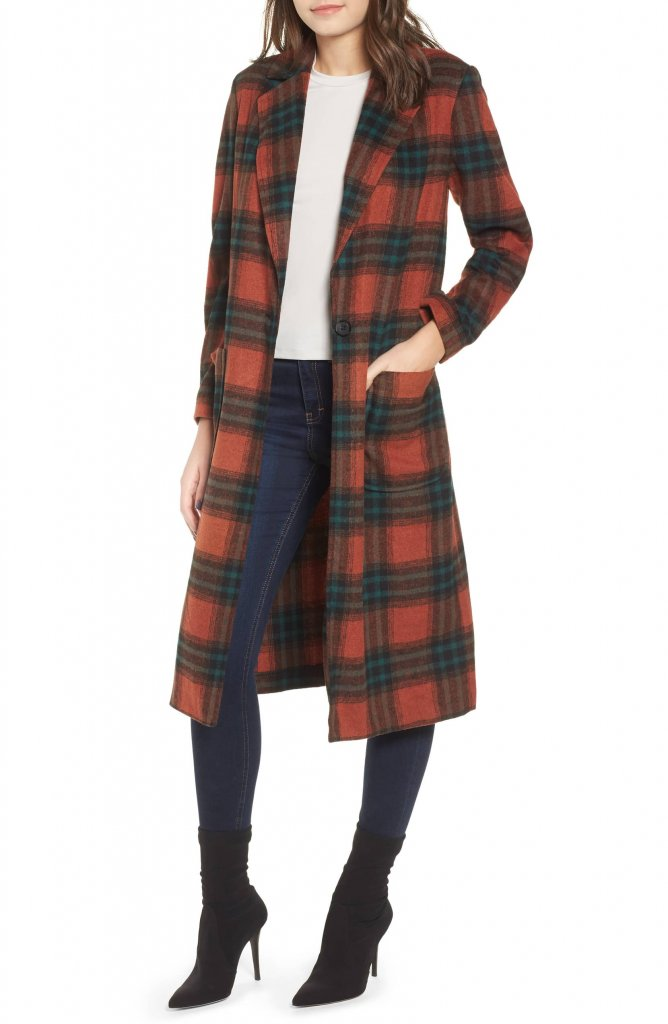 Leith Single Button Coat