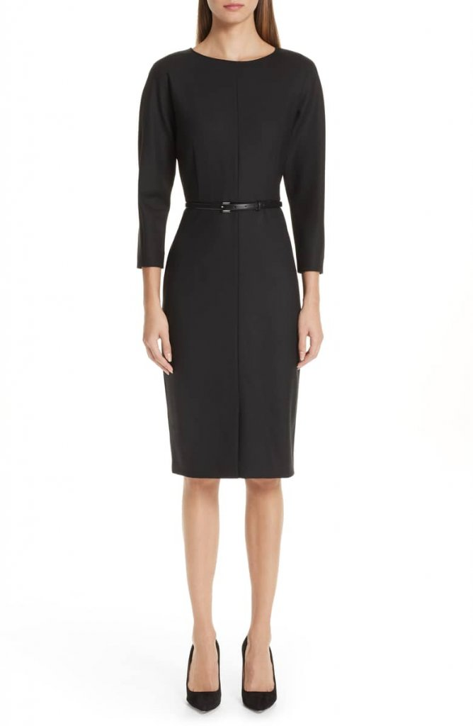 Max Mara Belted Dress