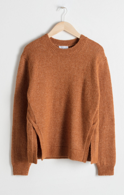 & Other Stories Crewneck Sweater