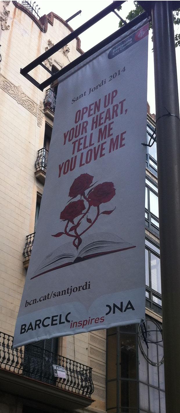 san Jordi banner 2014