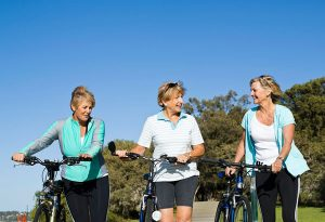 exercising is one of the 6 Things Healthy Women Consistently Do