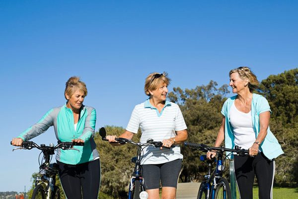Staying fit at 50