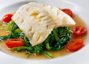 Halibut - foods rich in magnesium