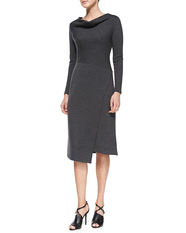 Lafayette-Wool-Draped-Dress
