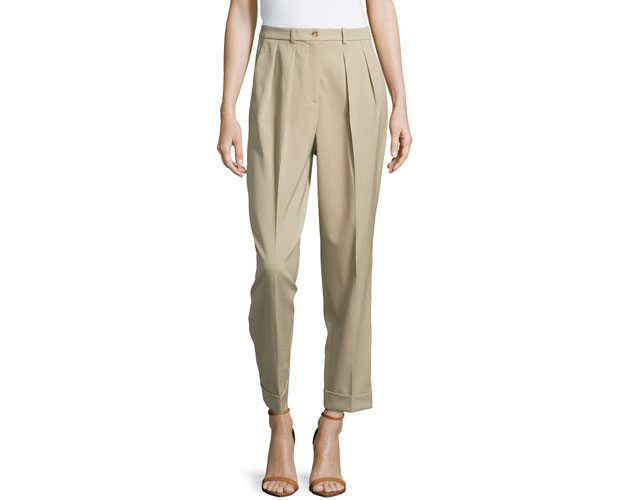 MK-Slim-pleated-Pant