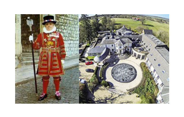 Beefeater Guard & Vineyard Hotel