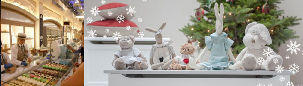 Food Halls at Harrods - Blue Almonds Stuffed Animals