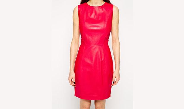 GET THE LOOK: Mubbaa, Kacco Leather Pencil Dress, SALE $340 USD >
