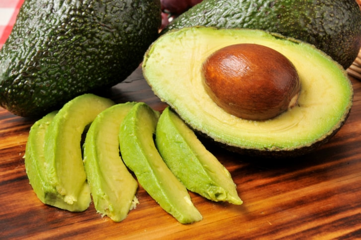 Avocado slices can help lower your cholesterol