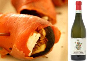 Prosciutto-wrapped-Figs-and-Vietti-Moscato-D-Asti Aphrodisiac Segundi