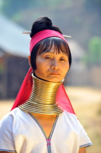 Thailand Women with neck rings