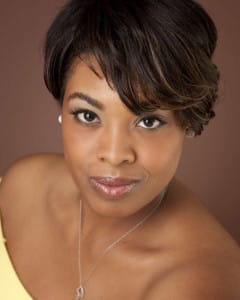 Headshot of a Beautiful Black Woman