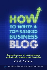 How to write a top ranked business blog cover image