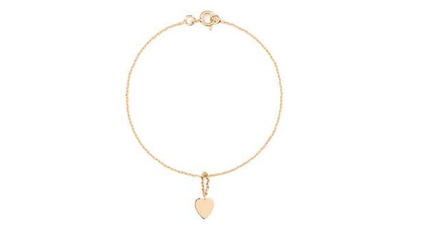Heart-Charm-Gold-bracelet