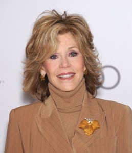 Jane Fonda Long Hair
