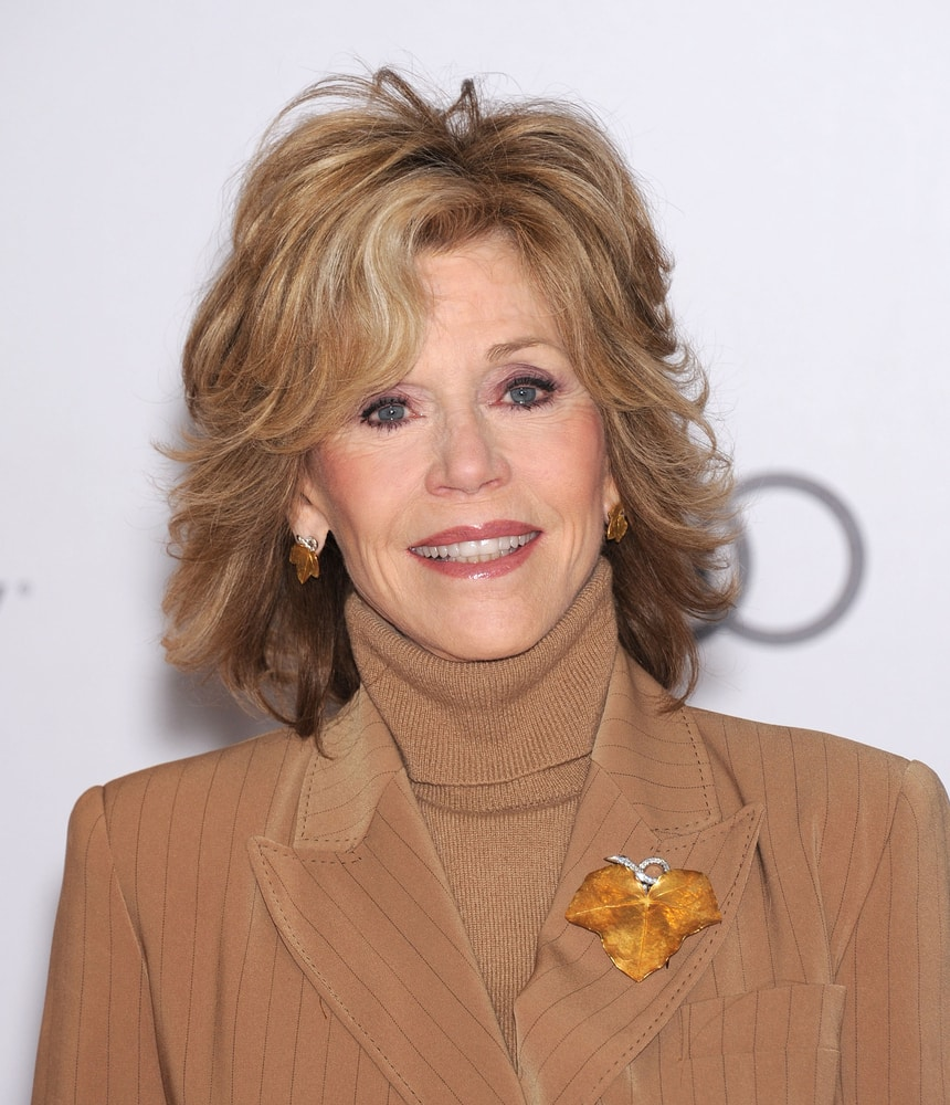 Jane Fonda Hairstyle Vintage To Modern Pictures to pin on Pinterest