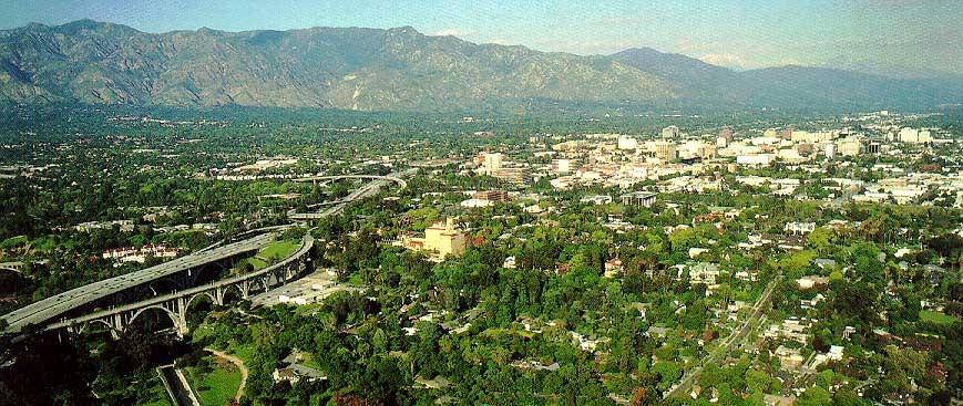 Pasadena landscape