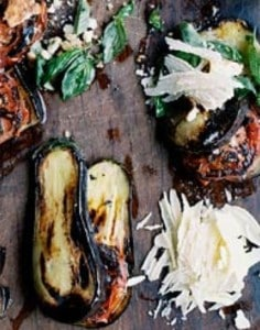 Grilled Eggplant pairs with Malbec wine well