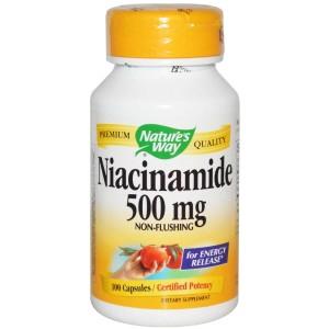 Nicotinamide - oral supplements