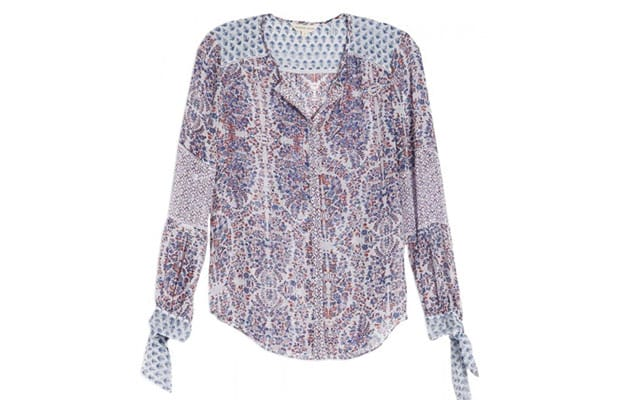 Paisley-Button-Down-Top