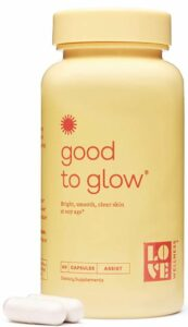 good to glow- oral supplements for skin