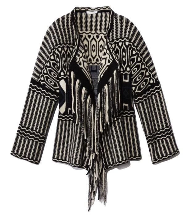 Fringe Sweater Jacket