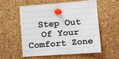Step Out Comfort Zone