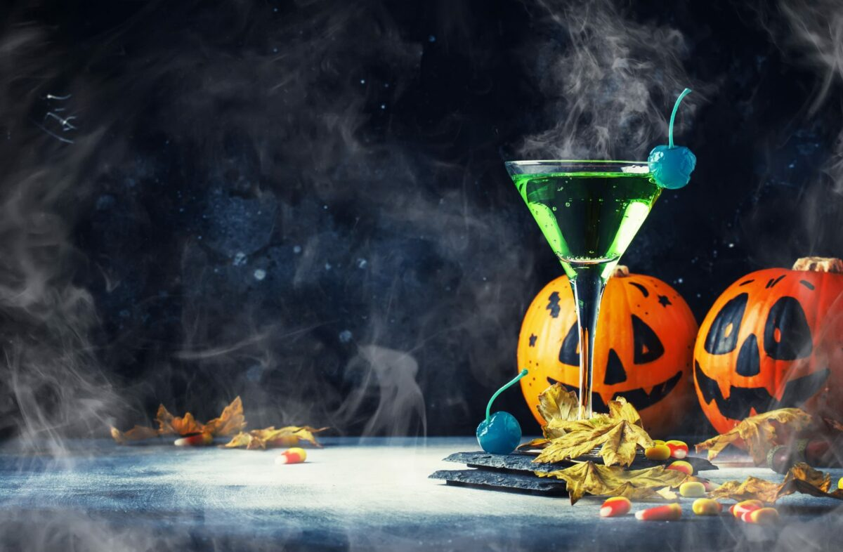 Halloween cocktails include a variety of gin recipes