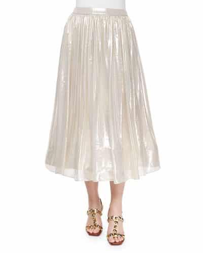 Metallic Skirt