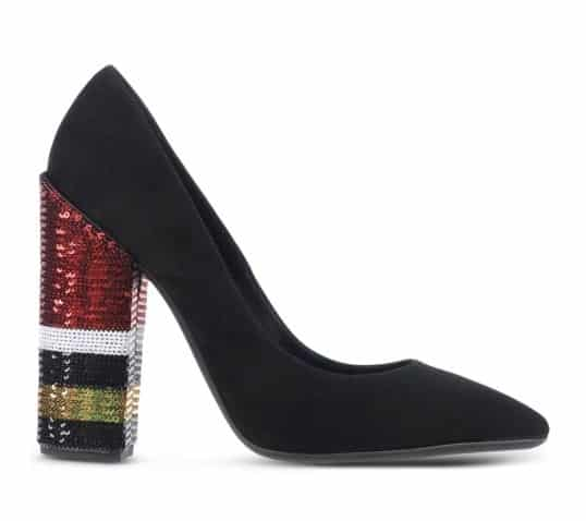 Sequin Heel Pump