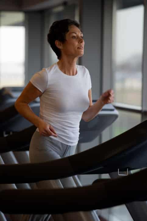 Treadmill - burn fat