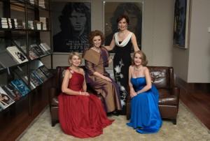 Primewomen.com's founder/owners: Valerie Freeman, Dianne P., Jan Fletcher, O.B.E. and Dorthy Miller-Shore