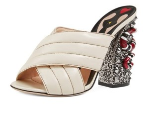 Gucci Webby Quilted Leather