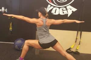 Warrior 2 Yoga Pose