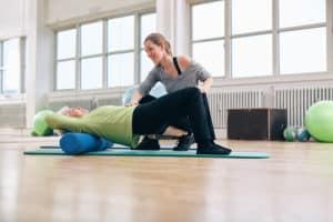 Foam Roll Massage