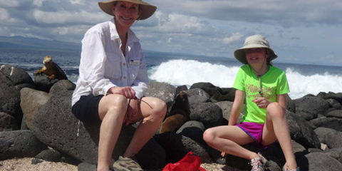 Galapagos Islands with Grandkids