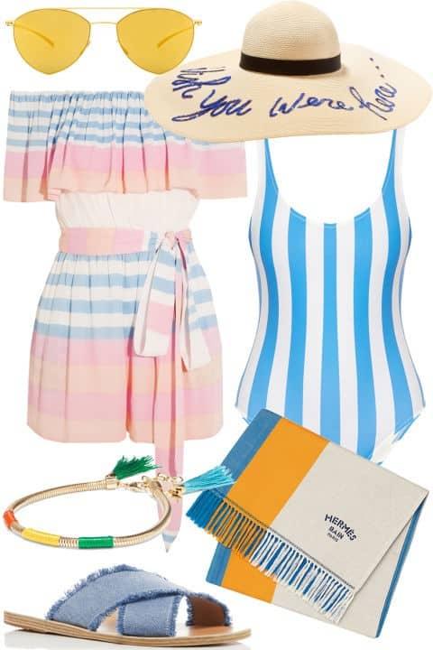 Beach Day - Fourth of July Fashion