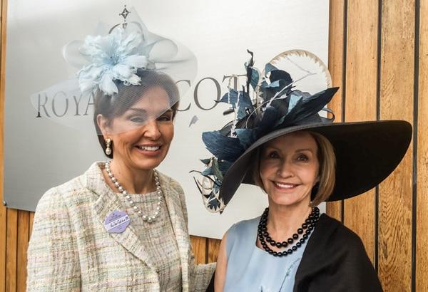 Royal Ascot - Dorthy and Jan