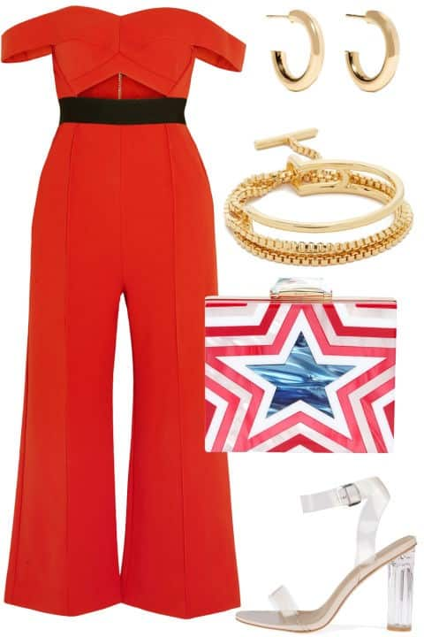 Rooftop Cocktails - Fourth of July Fashion