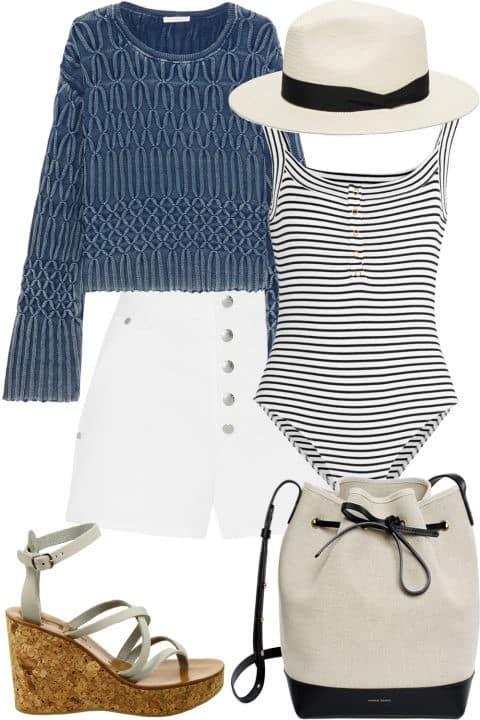 Sailing Trip - Fourth of July Fashion